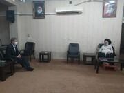 دیدار استاندار خوزستان با آیت الله موسوی جزایری