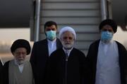 رئیس قوه قضائیه وارد اهواز شد   عزم قوای سهگانه بر حل ریشه ای مشکلات خوزستان