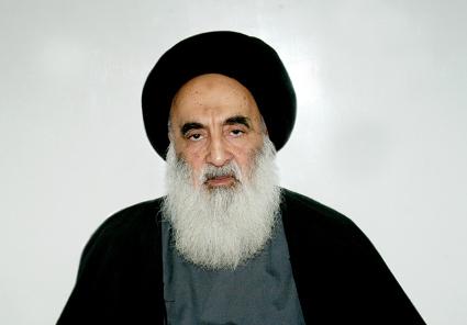 المرجع الديني سماحة السيد علي السيستاني