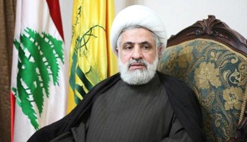 """نائب الأمين العام لـ""""حزب الله"""" الشيخ نعيم قاسم"""