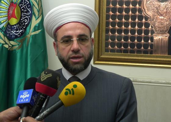 """رئيس حركة """"الاصلاح والوحدة"""" الشيخ ماهر عبدالرزاق"""