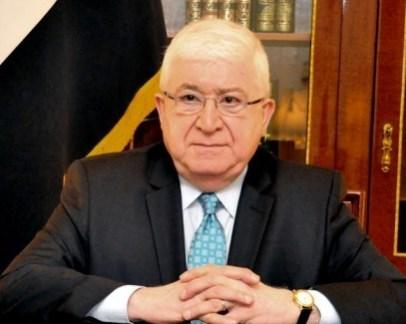 رئيس الجمهورية العراقي فؤاد معصوم
