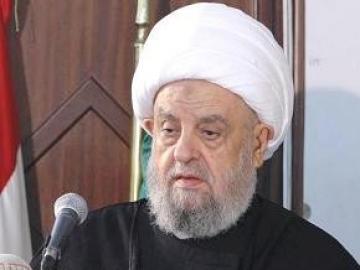 رئيس المجلس الإسلامي الشيعي الأعلى الإمام الشيخ عبد الأمير قبلان