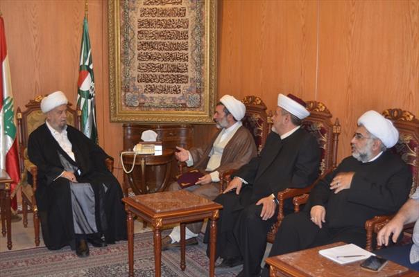 رئيس المجلس الإسلامي الشيعي الأعلى الشيخ عبد الأمير قبلان