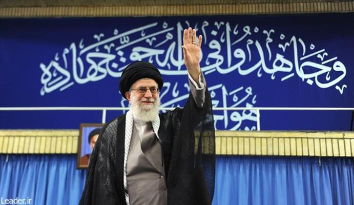 قائد الثورة الاسلامية الإيرانية آية الله العظمى السيد علي خامنئي