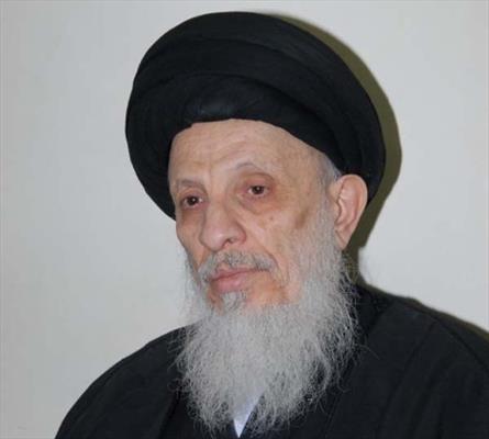 المرجع الديني السيد محمد سعيد الحكيم