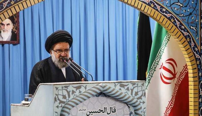 خطيب جمعة طهران الموقت آية الله السيد أحمد خاتمي
