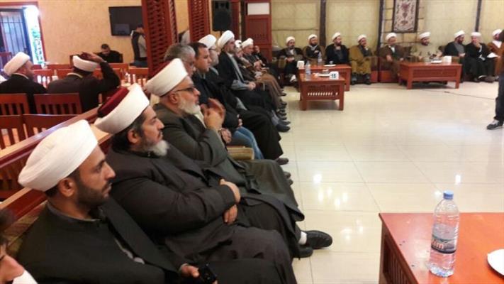 إحتفالٌ لحزب الله في صيدا اللبنانية بذكرى ولادة رسول الله وأسبوع الوحدة الاسلامية