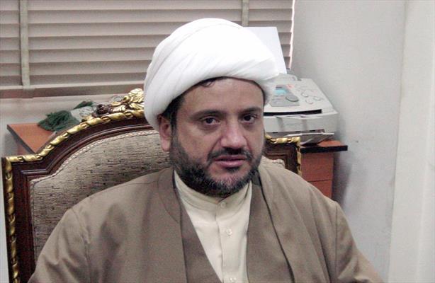 رئیس هیئة الإدارة في تجمع علماء المسلمين الشیخ حسان عبدالله