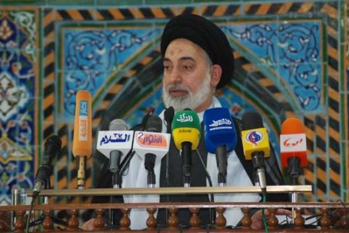 امام جمعة النجف الاشرف سماحة حجة الاسلام والمسلمين السيد صدر الدين القبانجي
