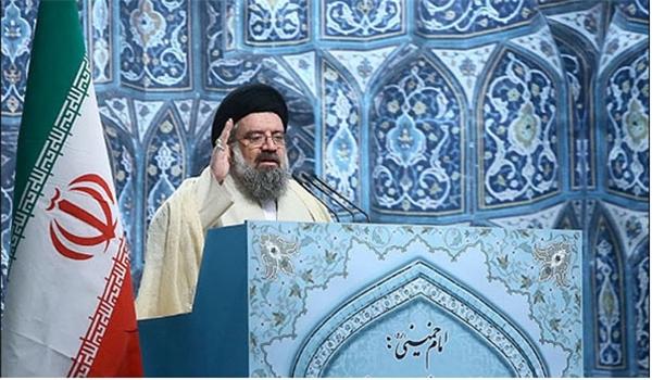 خطيب جمعة طهران المؤقت آية الله سيد احمد خاتمي