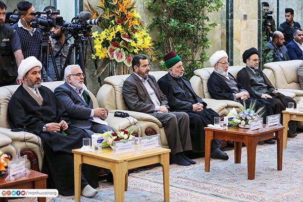 مسؤولو إدارات المراقد المقدسة في العراق وسوريا وايران يناقشون اهمية الزائر وسبل توفير الخدمات