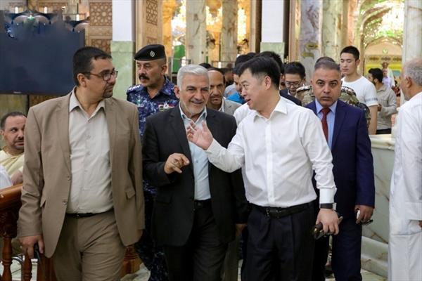 السفير الصيني في العراق