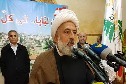 ائب رئيس المجلس الإسلامي الشيعي الأعلى الشيخ علي الخطيب