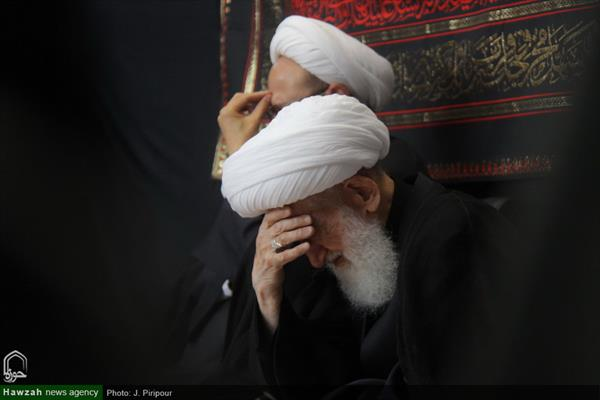 إقامة مجالس العزاء بمناسبة ذكرى الأربعين الحسيني في بيوت مراجع الدين والعلماء بقم المقدسة