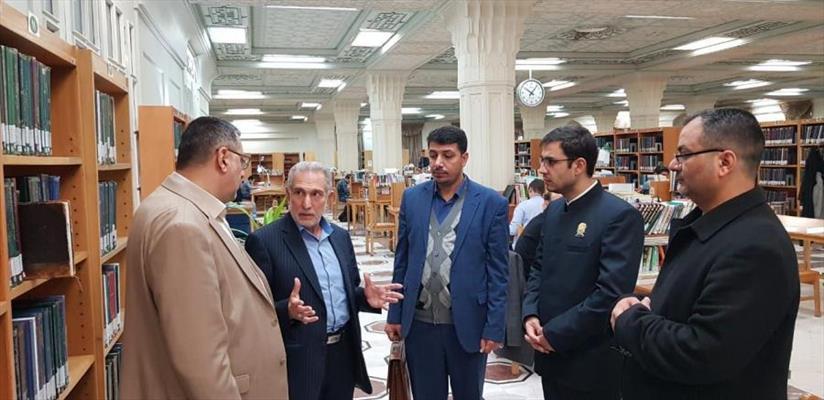 وفد مكتبة الروضة الحيدرية يزور عددا من المكتبات المهمة في الجمهورية الإسلامية الإيرانية