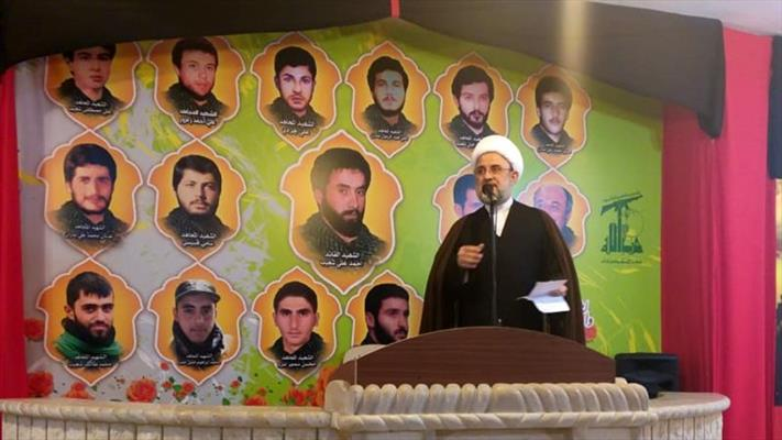 عضو المجلس المركزي في حزب الله، الشيخ نبيل قاووق