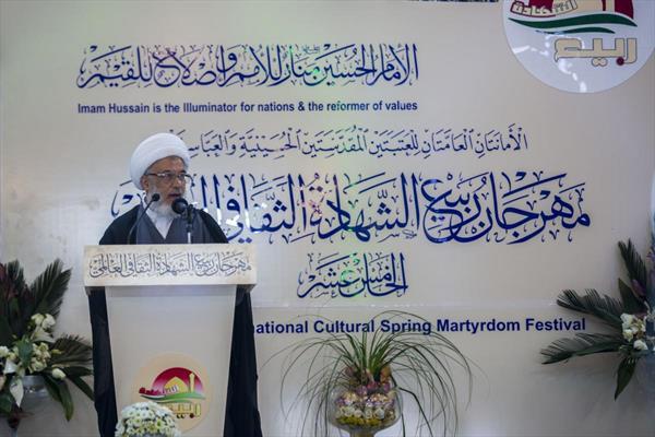 الشيخ عبد المهدي الكربلائيّ ممثل المرجع السيستاني