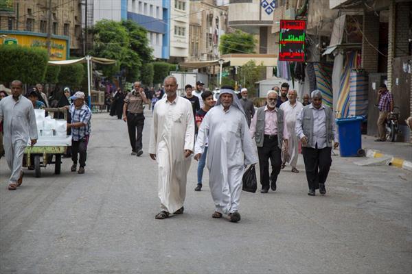 تدفّق الزائرين إلى مدينة كربلاء المقدّسة في أوّل خميسٍ من شهر رمضان
