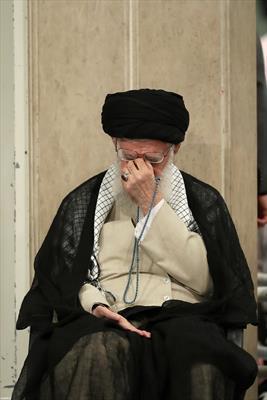 مراسم عزاء أمير المؤمنين عليه السلام بحضور الإمام الخامنئي