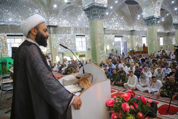 العتبة العسكرية المقدسة تشهد اقامة صلاة عيد الفطر المبارك