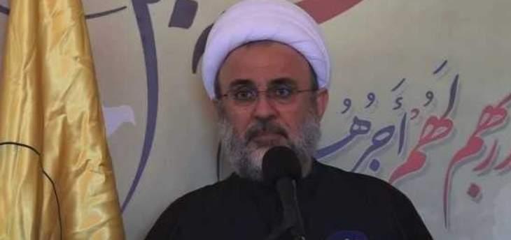 عضو المجلس المركزي في حزب الله الشيخ نبيل قاووق