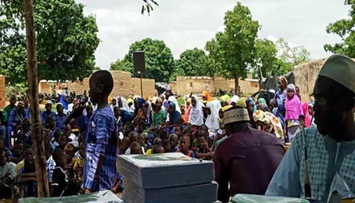 افتتاح الدورات الصيفية لطلبة دولة (بوركينا فاسو) بحضور ۵۰۰ شخصية