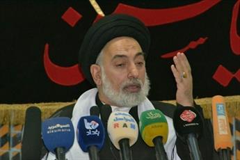 امام جمعه نجف: ضربه ایران هیمنه آمریکا را در هم شکست