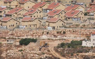 آلاف المشاريع الاستيطانية تحاصر مدينة القدس