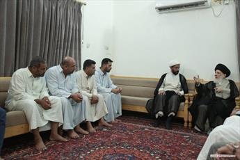 آية الله الحكيم يوصي العاملين بالمراكز الثقافية بأن يكونوا قدوة حسنة للآخرين بالالتزام الديني والاخلاقي