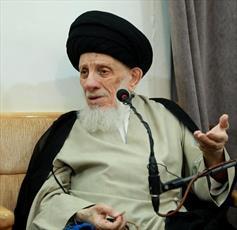 آية الله الحكيم يوصي شباب الجامعات العراقية بتغليب مصلحة بلدهم على بقية المصالح