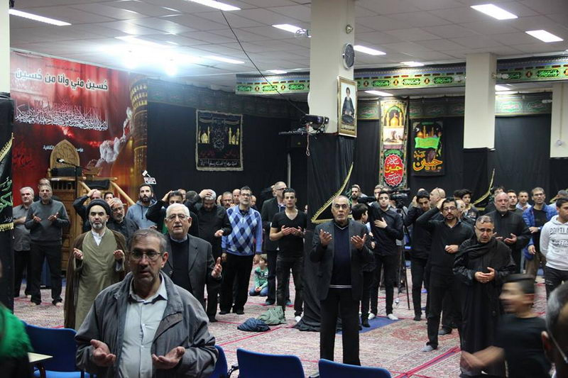 Imam Sajjad (as) Mourning Ceremony held in Europe
