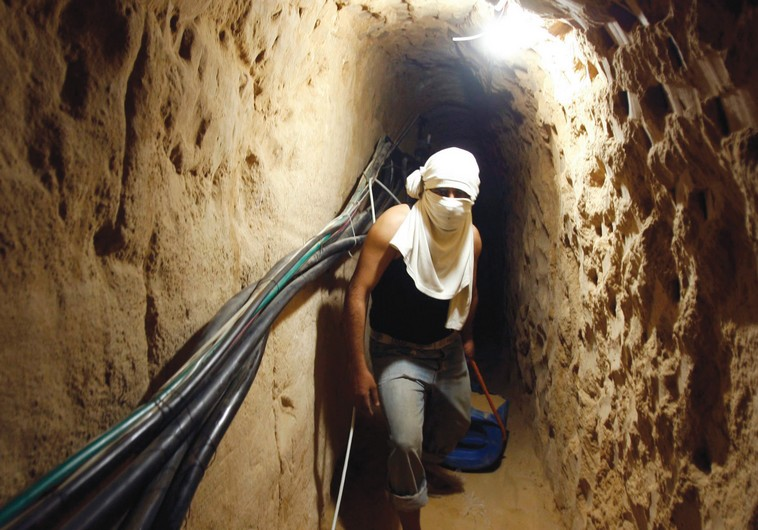 Zionist Army Blows up Tunnel Extending from Gaza Strip into Occupied Territories