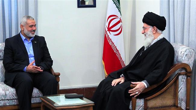 Senior Hamas figure writes to Ayatollah Khamenei to hail Iran's stance on Quds