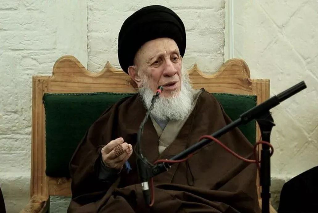 Grand Ayatollah Hakim receives seminary students in Najaf