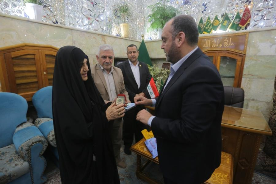 The Former Iraqi Ambassador to Norway: Visiting the Holy Shrine of Imam Ali (PBUH) Inspires the Real Meaning of Humanity