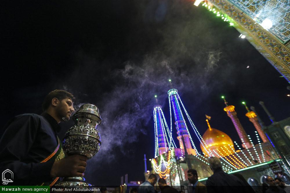 Celebration days of the month of Sha'ban at Lady Masuma (sa) shrine in Qom