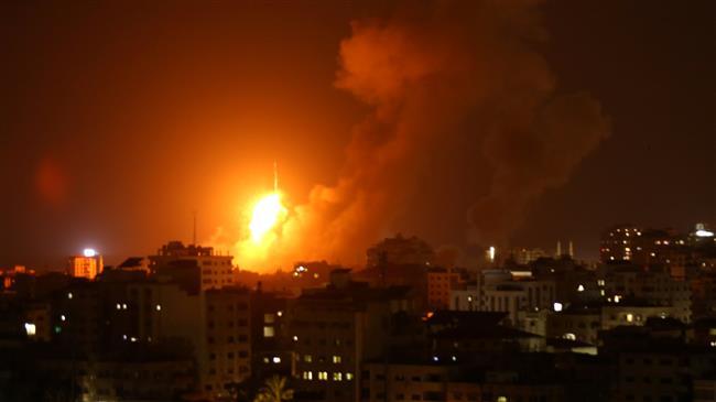 Israel strikes Gaza Strip ۱۴۰ times as fresh war looms