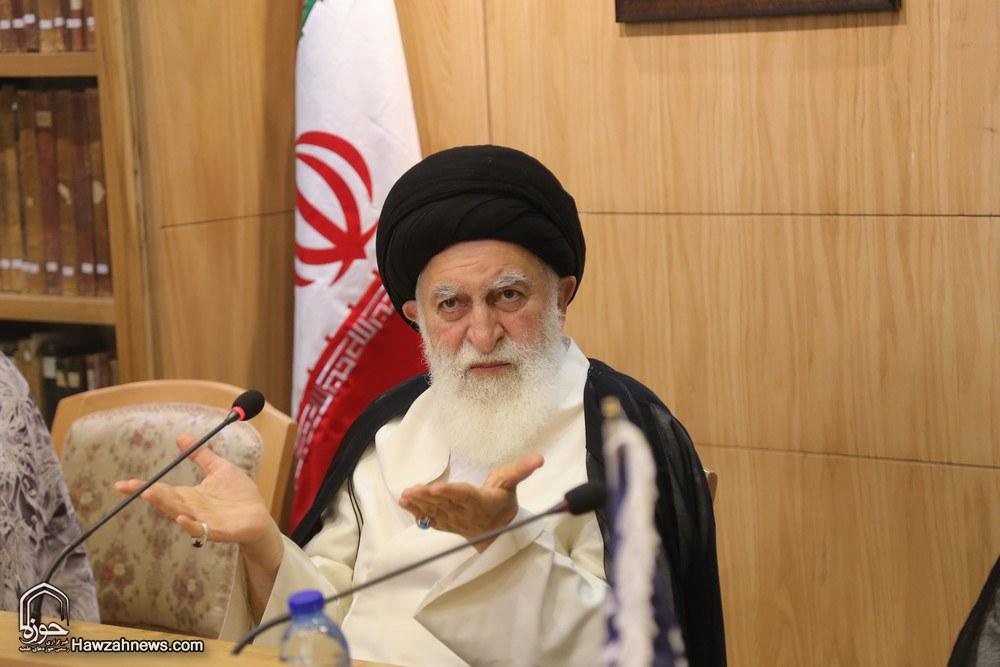 تسلیت آیت الله علوی بروجردی به مناسبت درگذشت دکتر جلال الدین رحمت