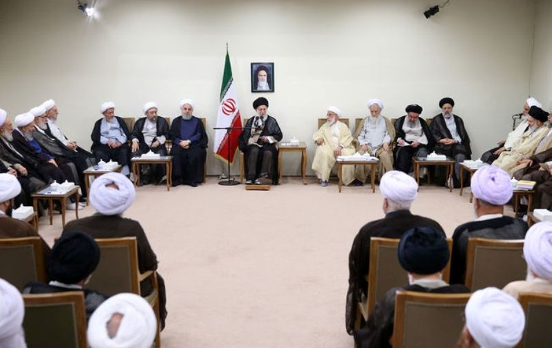 Iran Leader receives Assembly of Experts members