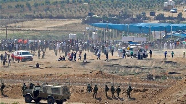 Israel deploys snipers, tanks, missiles to counter Gaza protests
