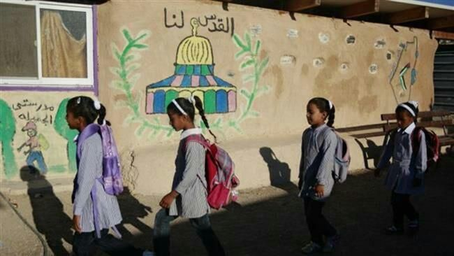 Palestinian students strike in occupied territories