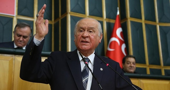 MHP's Bahçeli says Saudi Arabia, UAE backstabbing Muslims