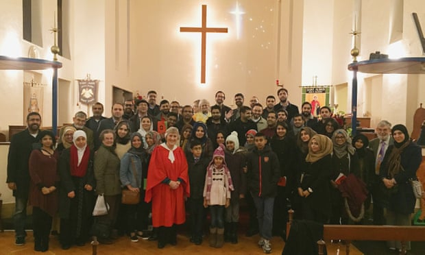 Church welcomes its special Muslim visitors on Christmas Eve