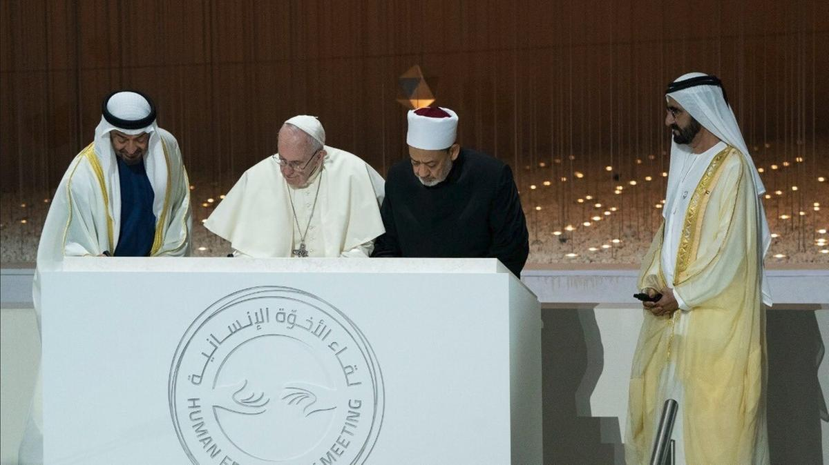 New church and mosque to be built in Abu Dhabi to celebrate papal visit