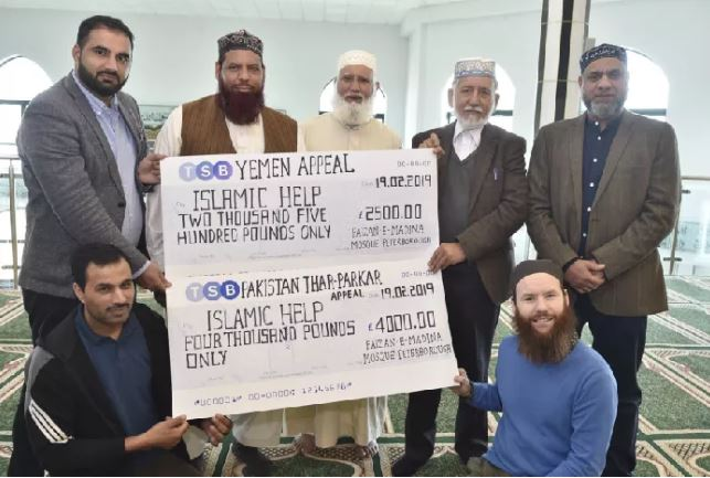 Peterborough mosque worshippers raise thousands of pounds for the starving
