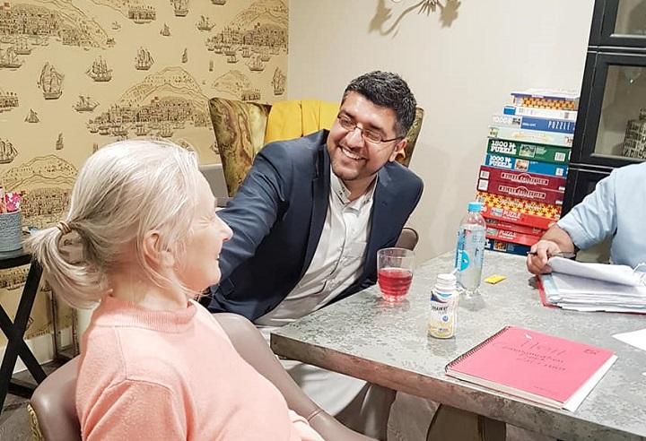 Preston Muslim group visit Deepdale care home