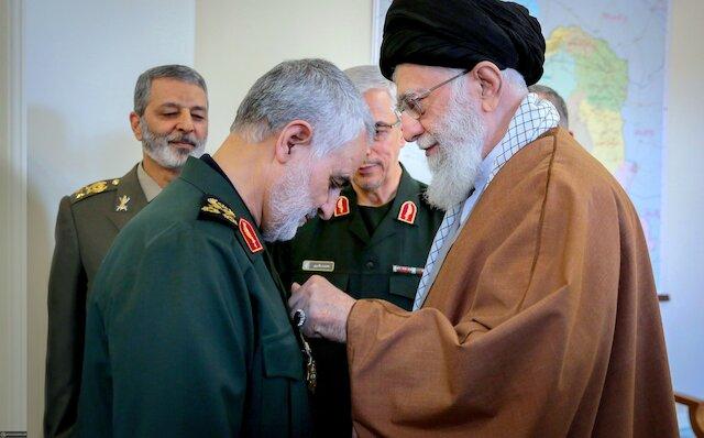 Imam Khamenei's statements when awarding Major General Soleimani with Order of Zolfaqar