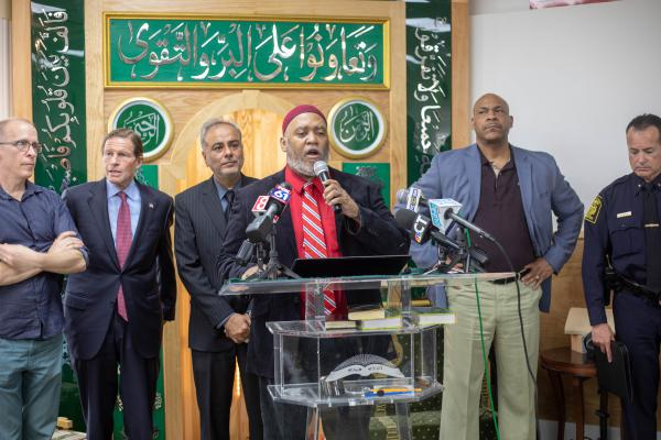FBI investigation continues after racist threat at Hartford Mosque