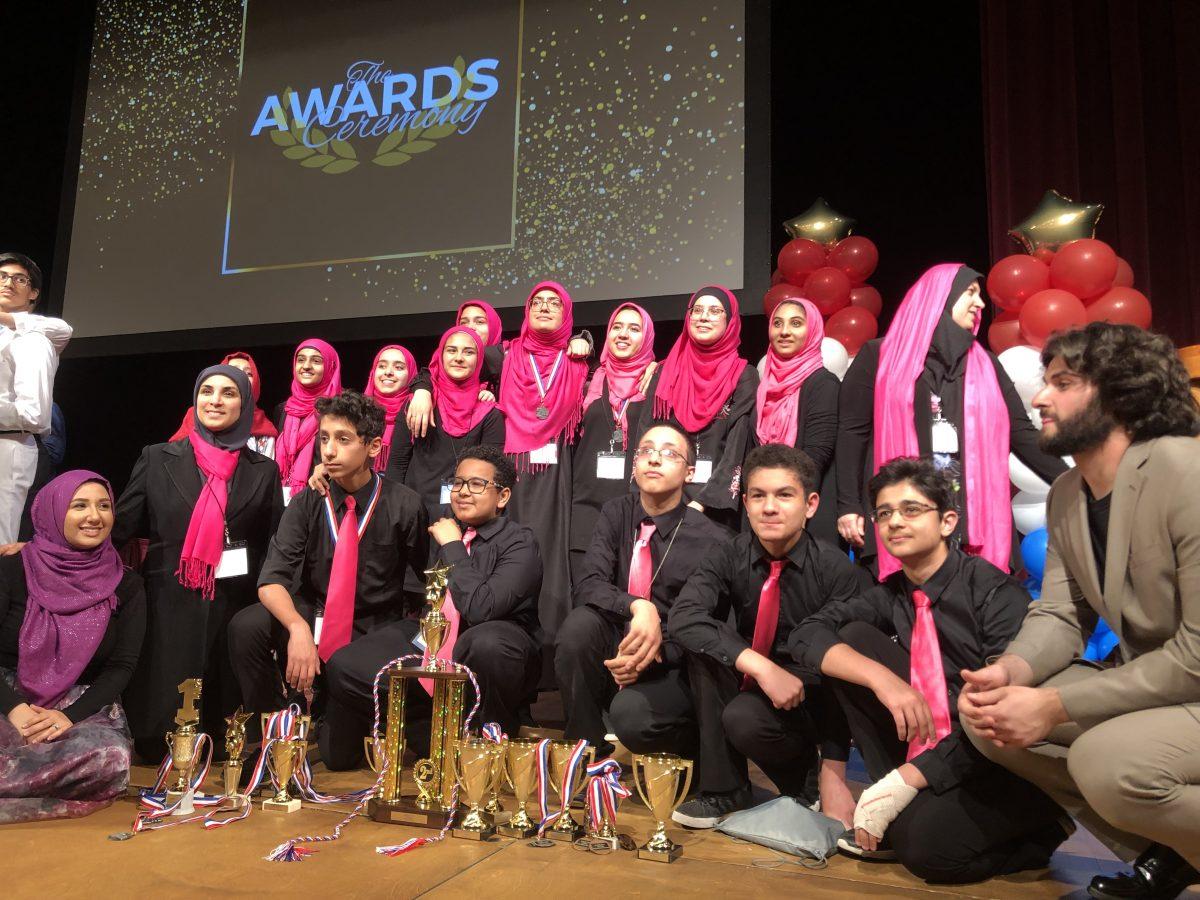Muslim community school wins ۲nd place at DC MIST